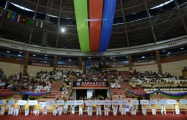 Eröffnungszeremonie des Internationalen Karate-Turniers in Baku